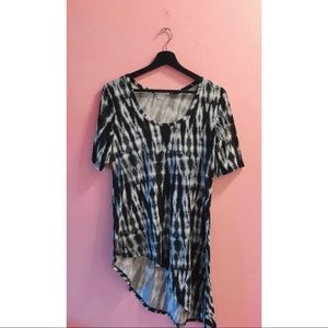 💥3 for $20💥 Vintage Tie Dye High Low Top